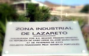 Zona industrial de Lazareto
