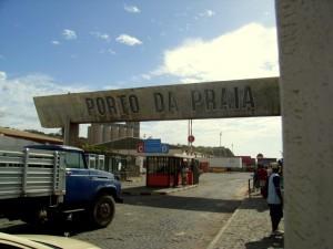 Entrada del Porto da Praia